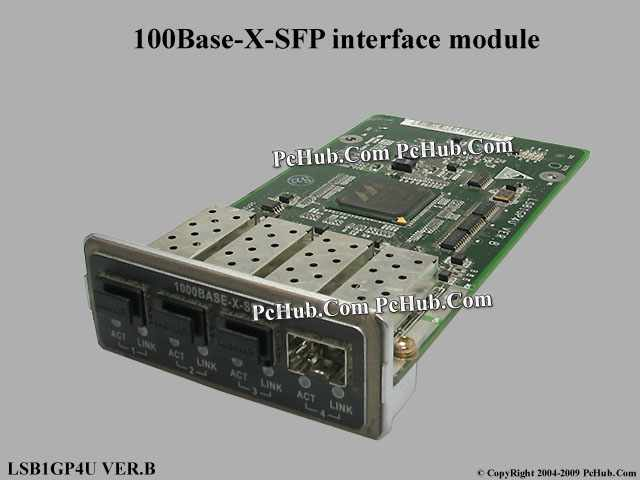 100Base-X-SFP interface module