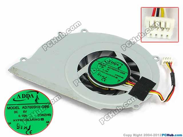 """DC 5V 0.15A, Bare Fan """"NEW"""""""
