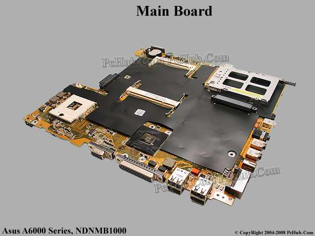 Asus A6000 A6  Series Main Board  Motherboard  Ndnmb1000