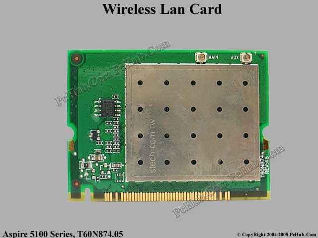Inprocomm ipn2120 wireless lan card