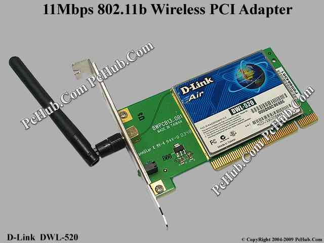 DWL-G520 WIRELESS 2.4GHZ 802.11B PCI ADAPTER DRIVERS FOR WINDOWS 10