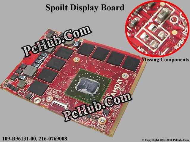 (Faulty) 1GB ATI HD5870 Mobility Radeon