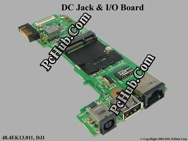 DC Jack & I/O Board