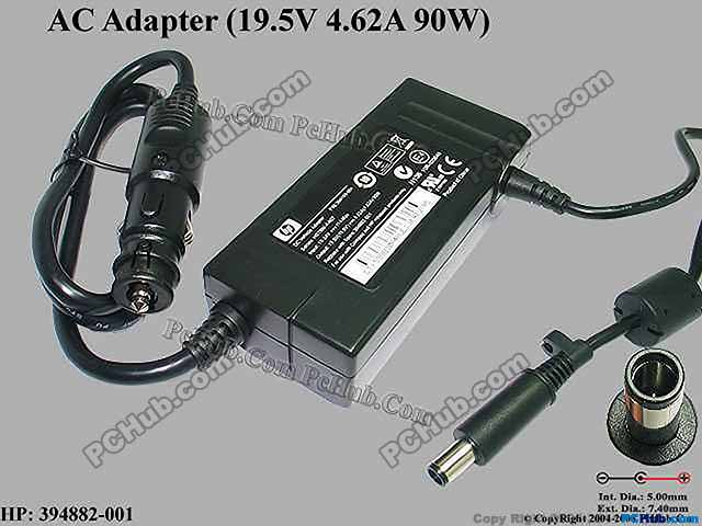 19.5V 4.62A 90W, Pin in the Middle, For Smart Note