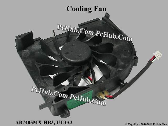 hp pavilion dv5t 1000 series cooling fan ab7405mx hb3 ut3a2 486799 001. Black Bedroom Furniture Sets. Home Design Ideas
