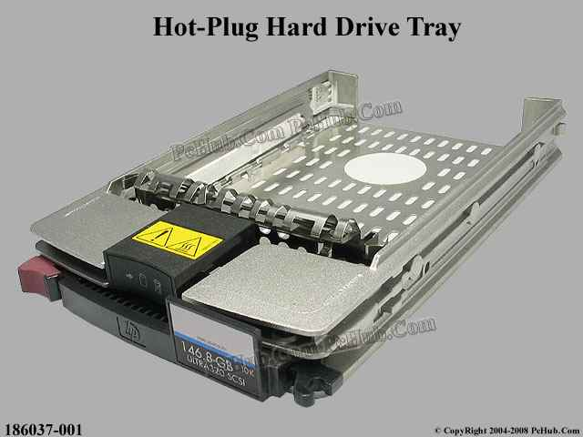 Hot-swap Hard Drive Tray Kit w/o Hard Disk (HP)