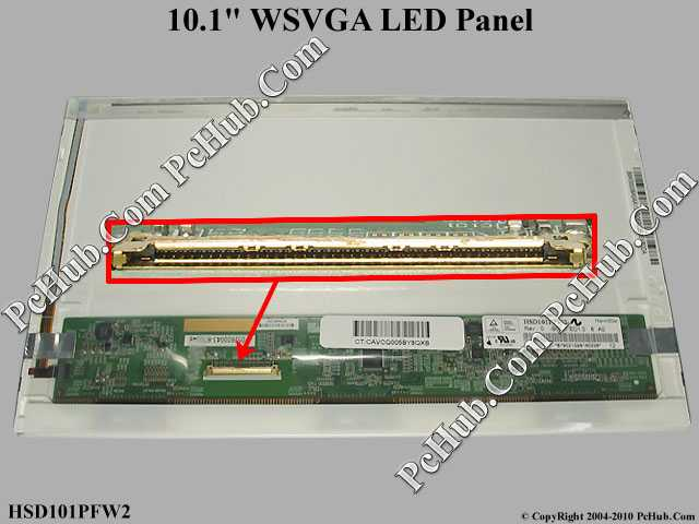 "10.1"" WSVGA LED Display Screen"
