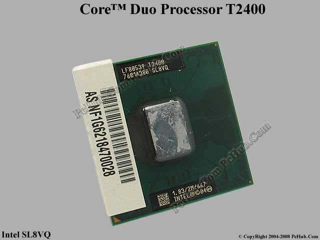 Intel Core Duo T2400 1.83GHz 667MHz SL8VQ 2MB L2 Laptop CPU Processor