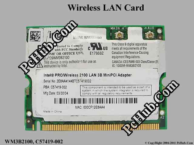 INTEL WIRELESS LAN 2100 3B MINI PCI WINDOWS 10 DRIVERS DOWNLOAD