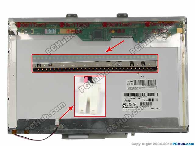 "15.4"" WXGA+ LCD Display Screen"