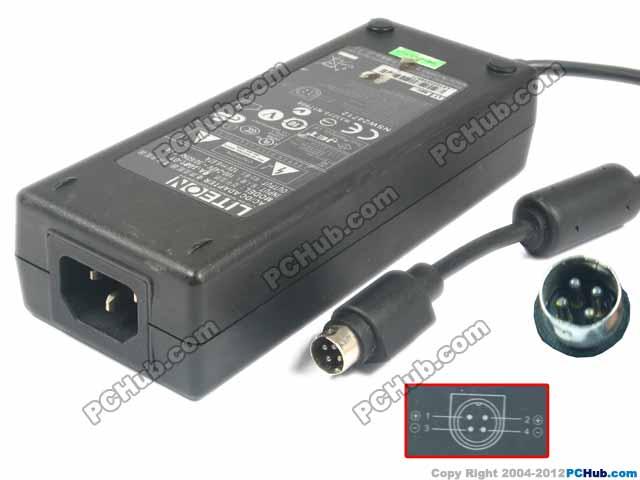 12V 6.67A, 4-Pin DIN, IEC C14