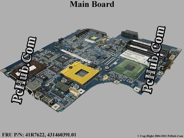 41R7622 Ibm System Board For Thinkpad 3000