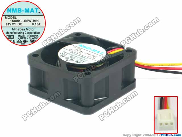 Nmb Mat 1608kl 05w B69 Server Square Fan 1608kl 05w B69 M54