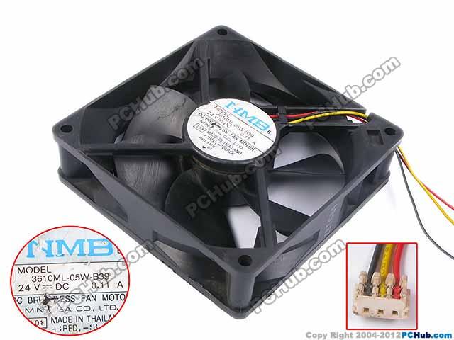 Nmb Mat 3610ml 05w B39 Server Square Fan 3610ml 05w B39 L01