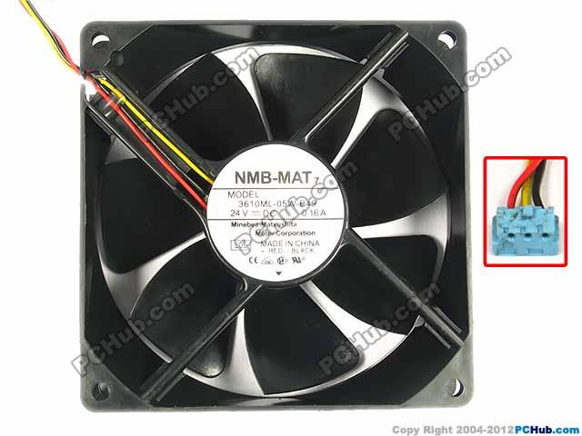 Nmb Mat 3610ml 05w B49 Server Square Fan 3610ml 05w B49 L05