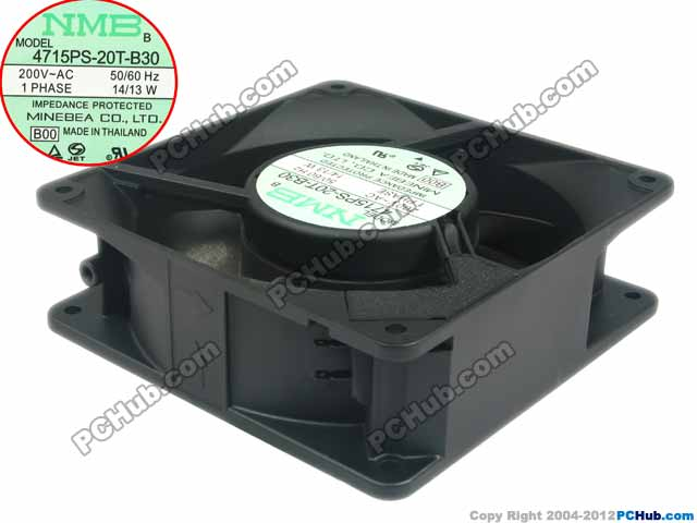 Nmb Mat 4715ps 20t B30 Server Square Fan 4715ps 20t B30 B00