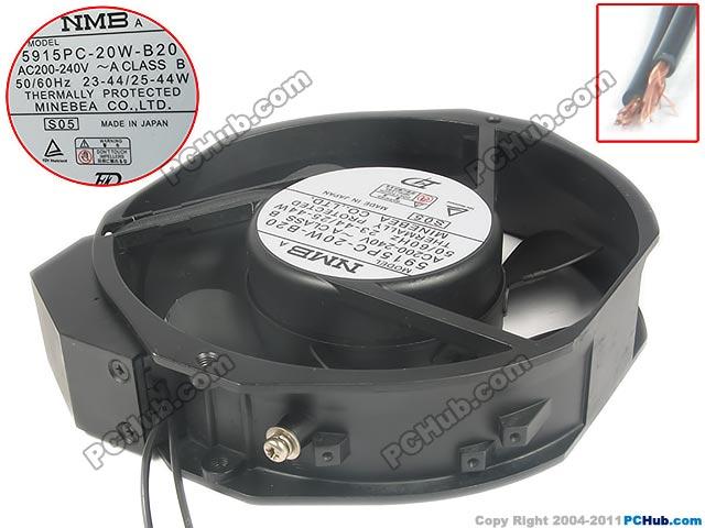 Nmb Mat 5915pc 20w B20 Server Round Fan 5915pc 20w B20 S05