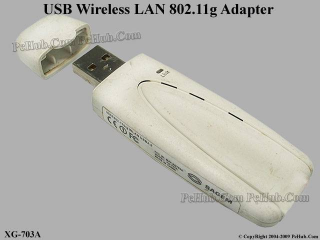 USB Wireless LAN 54Mbps 802.11g Adapter