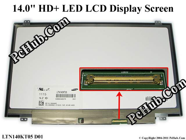 "14.0"" WXGA++ HD+ LED LCD Display Screen"