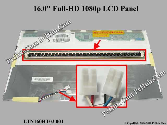 "16.0"" Full-HD 1080p LCD Display Screen"
