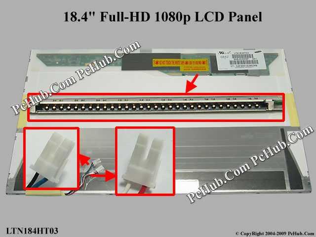 "18.4"" Full-HD 1080p LCD Display Screen"