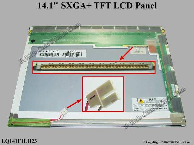 "14.1"" SXGA+ TFT LCD Display Screen"