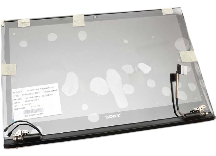 Complete Touch Screen LCD Panel Assembly (Black)