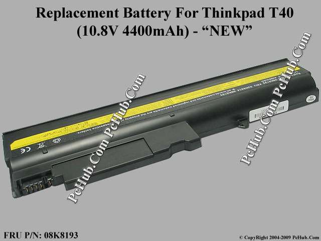 Thinkpad T40, T40p, T41, T41p, T42, T42p
