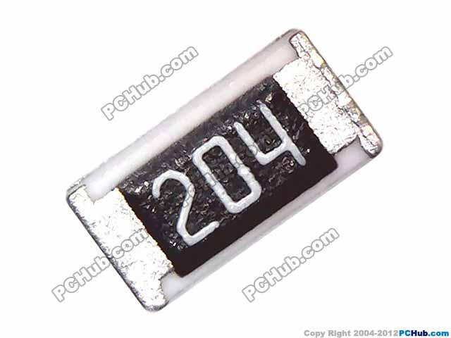 SMD Resistor. 200K. 204