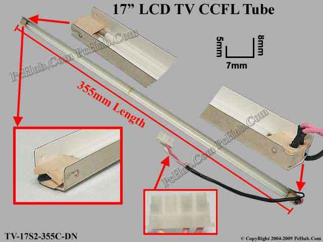 "17"" LCD Monitor Dual Lamp"