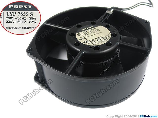 Ebm Papst Typ 7855 S Server Round Fan Typ 7855 S